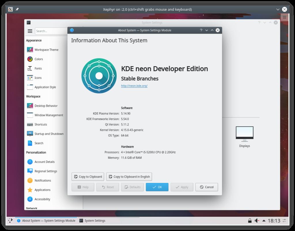 Help Test KDE Plasma 5.15 Beta – KDE neon Developers' Blog